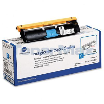 QMS MAGICOLOR 2400W 2430DL TONER CARTRIDGE CYAN